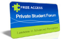 Private Student Forum free pass