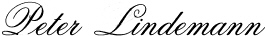 Peter Lindemann signature